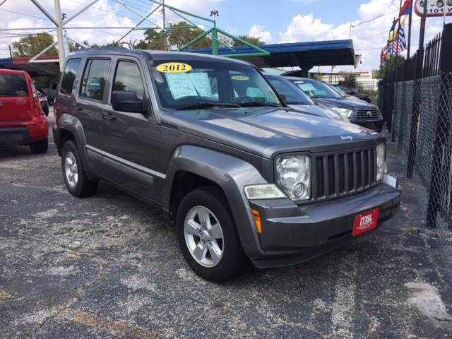 Suv Auto Sales Houston Tx: 2012 Jeep Liberty 4x4 Latitude 4dr SUV In Houston TX