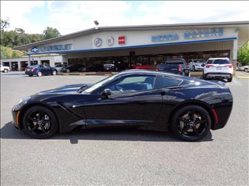 2015 chevrolet corvette stingray stingray 2dr coupe w1lt - 2015 Corvette Stingray Matte Black