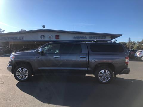 2017 Toyota Tundra for sale in Jamestown, CA