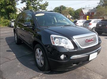 2011 GMC Acadia for sale in Bellingham, MA