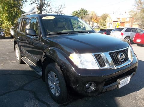 2012 Nissan Pathfinder for sale in Bellingham, MA