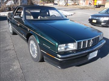 1993 Cadillac Allante for sale in Bellingham, MA