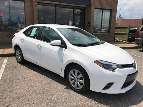 toyota corolla for sale in memphis tn. Black Bedroom Furniture Sets. Home Design Ideas