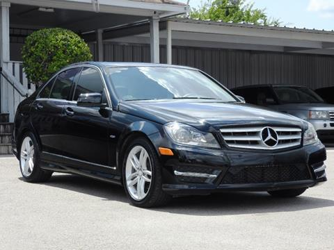 2012 Mercedes Benz C Class For Sale In Houston, TX