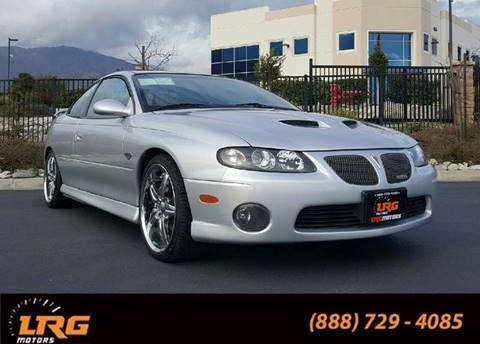 2006 Pontiac GTO for sale in Upland, CA