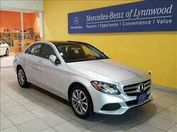 2017 Mercedes-Benz C-Class for sale in Lynnwood, WA