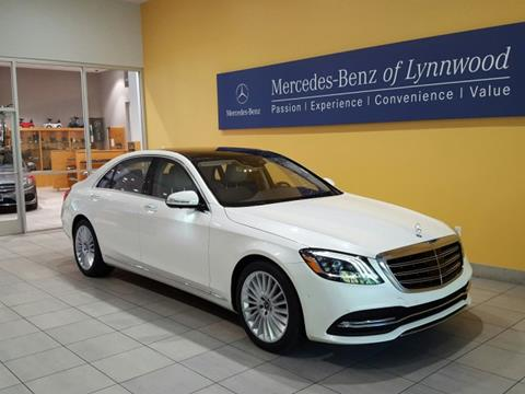 2018 Mercedes-Benz S-Class for sale in Lynnwood, WA