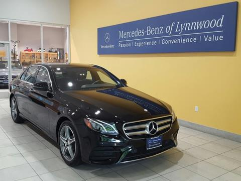 2017 Mercedes-Benz E-Class for sale in Lynnwood, WA