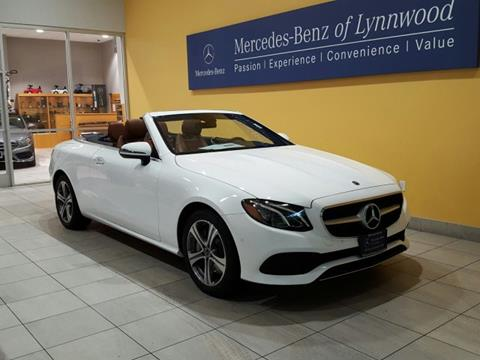 2018 Mercedes-Benz E-Class for sale in Lynnwood, WA