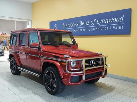 2016 Mercedes-Benz G-Class for sale in Lynnwood, WA