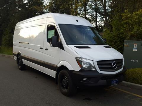 2017 Mercedes-Benz Sprinter Cargo for sale in Lynnwood, WA