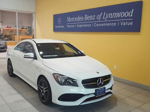 2018 Mercedes-Benz CLA for sale in Lynnwood, WA