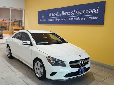 2018 Mercedes-Benz CLA for sale in Lynnwood, WA