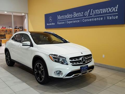 2018 Mercedes-Benz GLA for sale in Lynnwood, WA