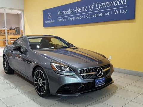 2018 Mercedes-Benz SLC for sale in Lynnwood, WA