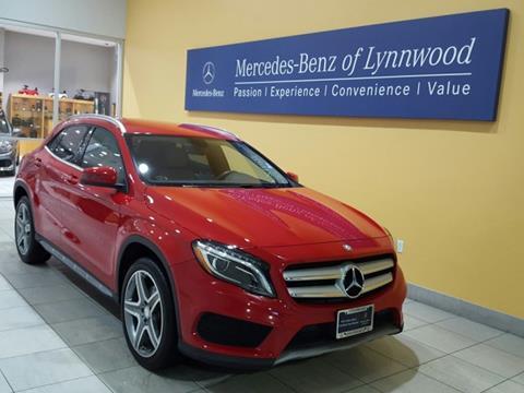 2015 Mercedes-Benz GLA for sale in Lynnwood, WA