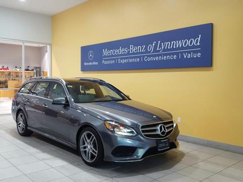 2016 Mercedes-Benz E-Class for sale in Lynnwood, WA