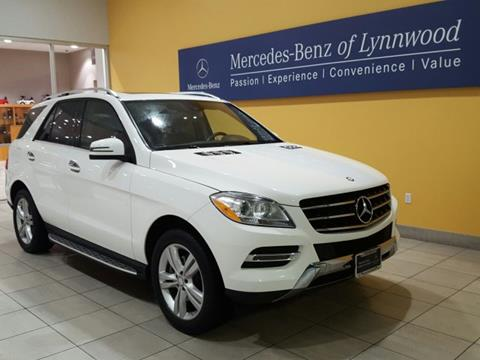 2015 Mercedes-Benz M-Class for sale in Lynnwood, WA