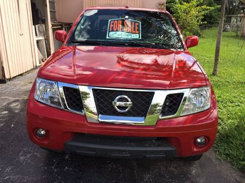 2010 Nissan Frontier for sale at Auction Direct Plus in Miami FL
