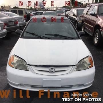 2003 Honda Civic for sale at Auction Direct Plus in Miami FL
