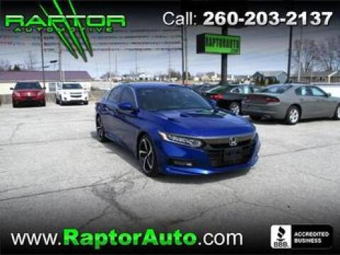 2019 Honda Accord Sport for sale at Raptor Automotive in Fort Wayne IN