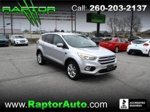 2017 Ford Escape SE for sale at Raptor Automotive in Fort Wayne IN