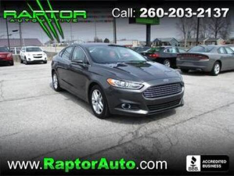 2016 Ford Fusion SE for sale at Raptor Automotive in Fort Wayne IN