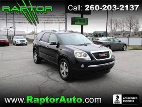2011 GMC Acadia SLT-1 for sale at Raptor Automotive in Fort Wayne IN