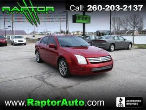 2009 Ford Fusion SEL for sale at Raptor Automotive in Fort Wayne IN
