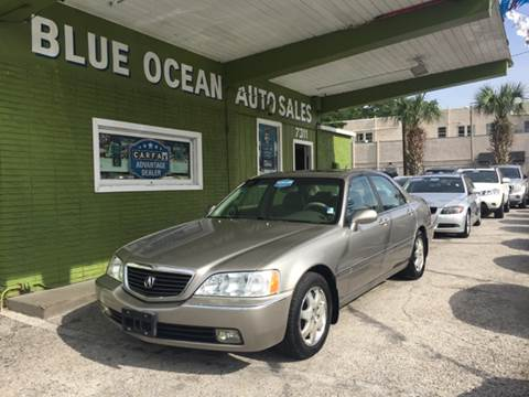 2002 Acura RL for sale at Blue Ocean Auto Sales LLC in Tampa FL