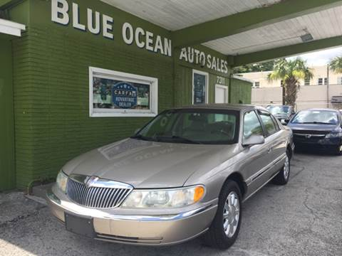 2000 Lincoln Continental for sale at Blue Ocean Auto Sales LLC in Tampa FL