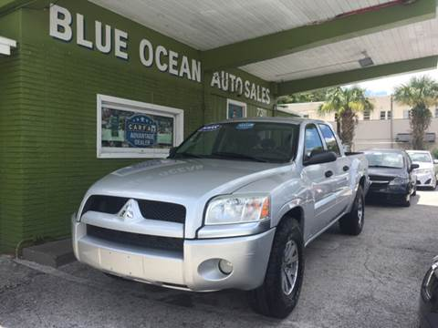 2008 Mitsubishi Raider for sale at Blue Ocean Auto Sales LLC in Tampa FL