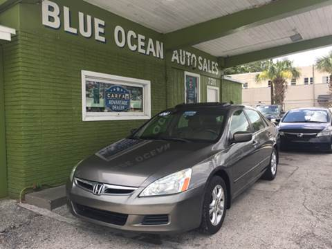 2006 Honda Accord for sale at Blue Ocean Auto Sales LLC in Tampa FL