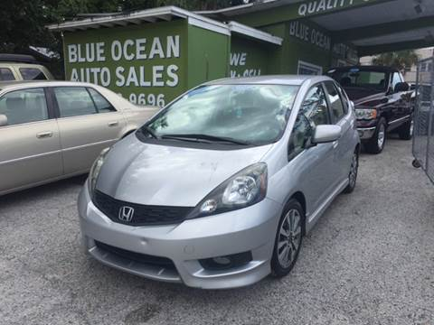 2012 Honda Fit for sale at Blue Ocean Auto Sales LLC in Tampa FL