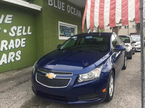 2012 Chevrolet Cruze for sale at Blue Ocean Auto Sales LLC in Tampa FL