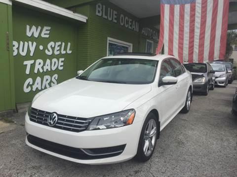 2015 Volkswagen Passat for sale at Blue Ocean Auto Sales LLC in Tampa FL