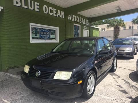 2002 Volkswagen Jetta for sale at Blue Ocean Auto Sales LLC in Tampa FL