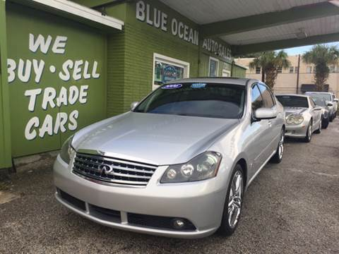 2006 Infiniti M45 for sale at Blue Ocean Auto Sales LLC in Tampa FL