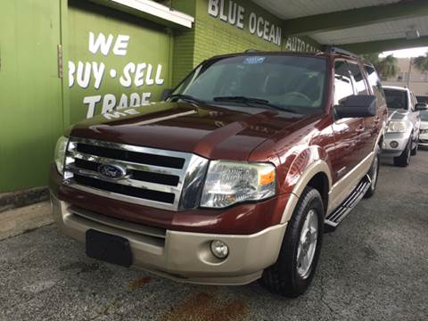 2007 Ford Expedition for sale at Blue Ocean Auto Sales LLC in Tampa FL