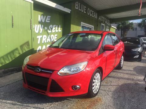 2012 Ford Focus for sale at Blue Ocean Auto Sales LLC in Tampa FL
