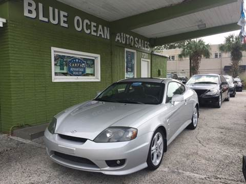 2005 Hyundai Tiburon for sale at Blue Ocean Auto Sales LLC in Tampa FL