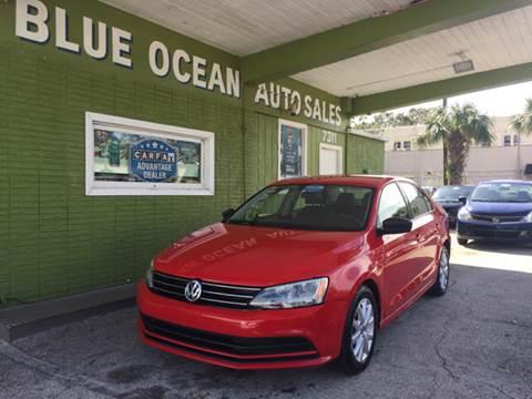 2015 Volkswagen Jetta for sale at Blue Ocean Auto Sales LLC in Tampa FL