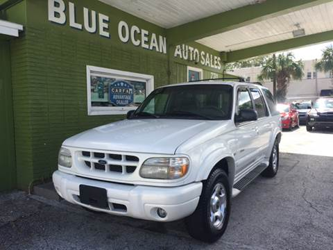 1999 Ford Explorer for sale at Blue Ocean Auto Sales LLC in Tampa FL