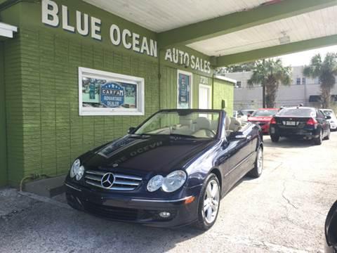 2007 Mercedes-Benz CLK for sale at Blue Ocean Auto Sales LLC in Tampa FL