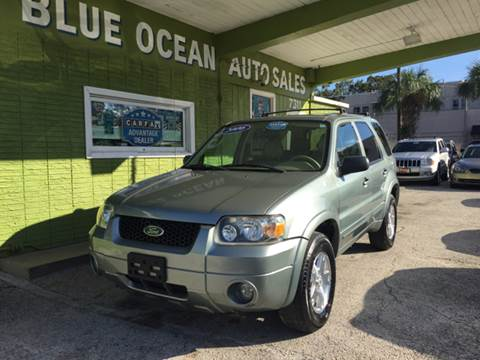 2006 Ford Escape for sale at Blue Ocean Auto Sales LLC in Tampa FL