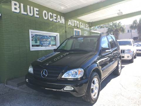 2002 Mercedes-Benz M-Class for sale at Blue Ocean Auto Sales LLC in Tampa FL