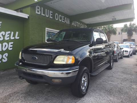 2001 Ford F-150 for sale at Blue Ocean Auto Sales LLC in Tampa FL