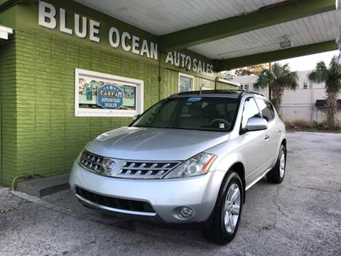 2007 Nissan Murano for sale at Blue Ocean Auto Sales LLC in Tampa FL
