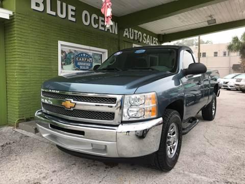 2013 Chevrolet Silverado 1500 for sale at Blue Ocean Auto Sales LLC in Tampa FL