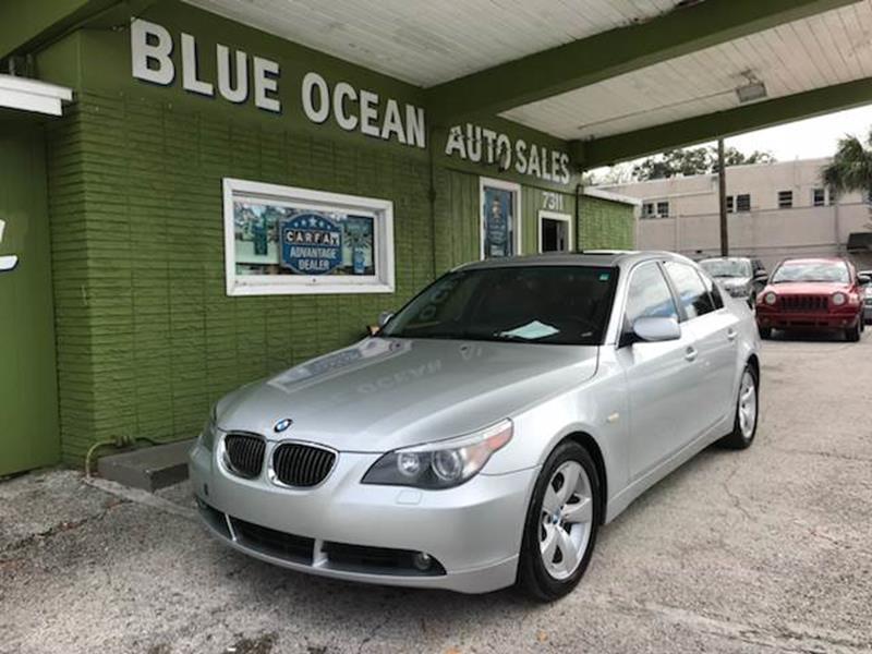 Bmw Series I Dr Sedan In Tampa FL Blue Ocean Auto - 2007 bmw 535